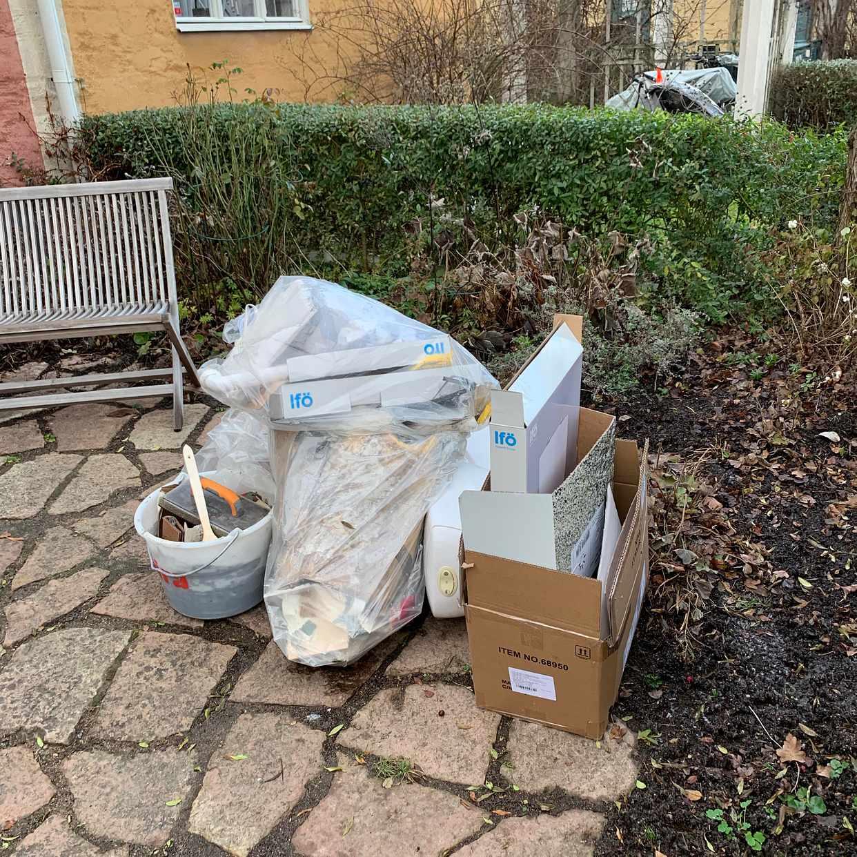 image of Toa, tvättställ sopsäckar - Bromma