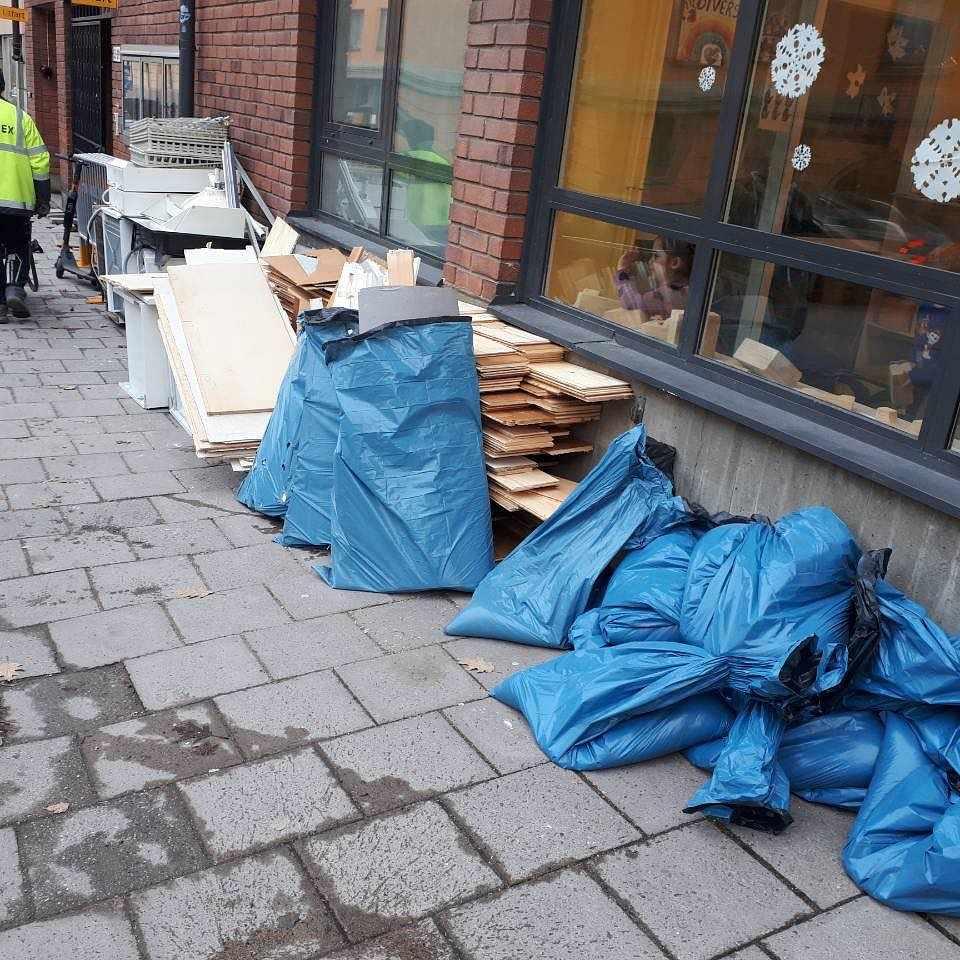 image of Byggavfall - Stockholm