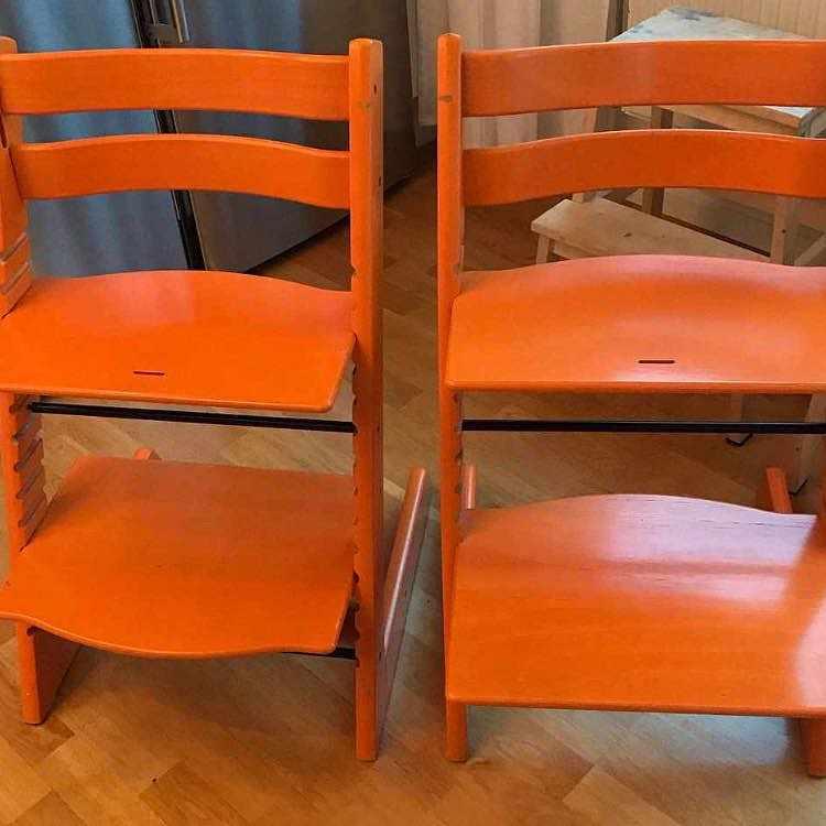 image of Köras 2 barnstolar -