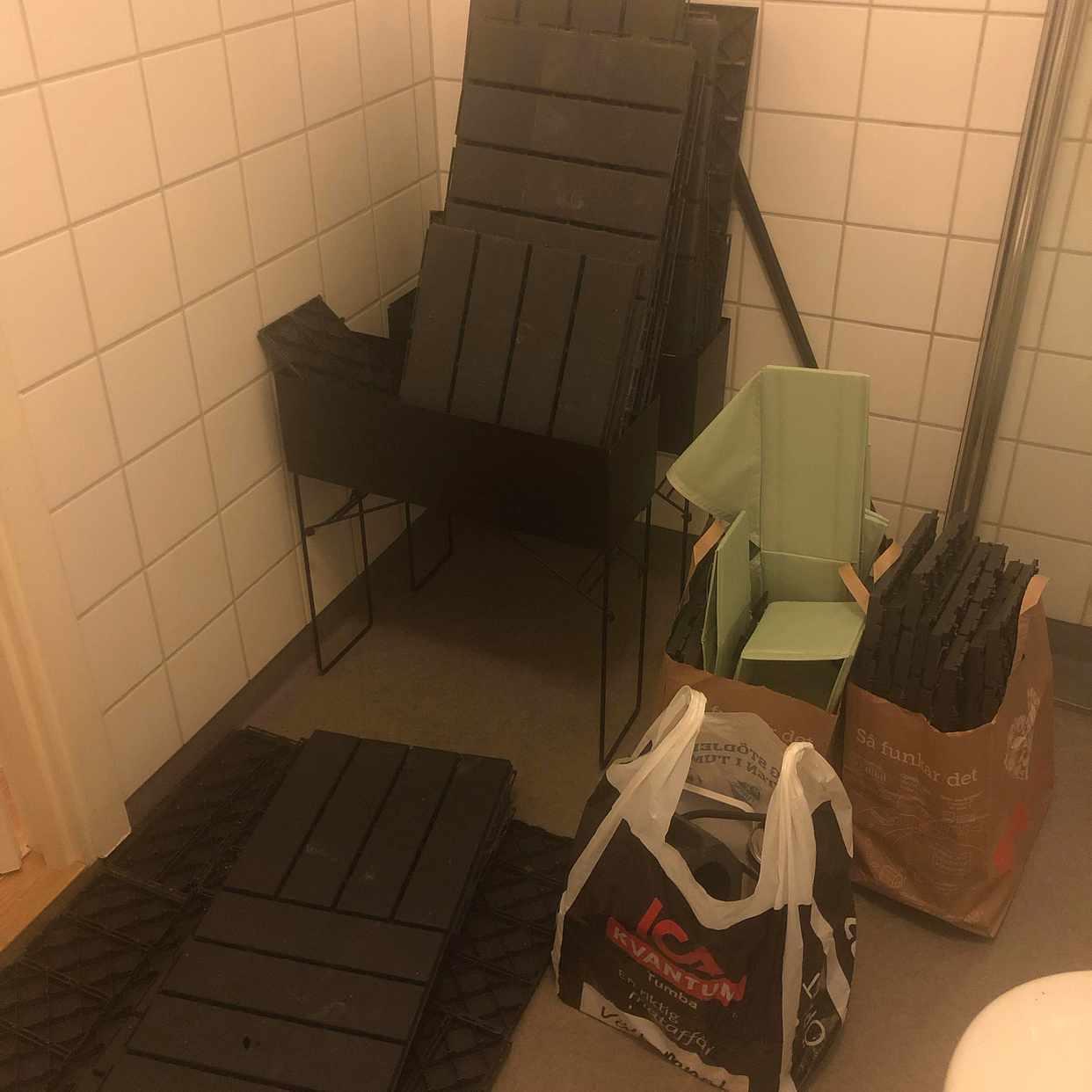 image of Sängbord och blandat - Tumba