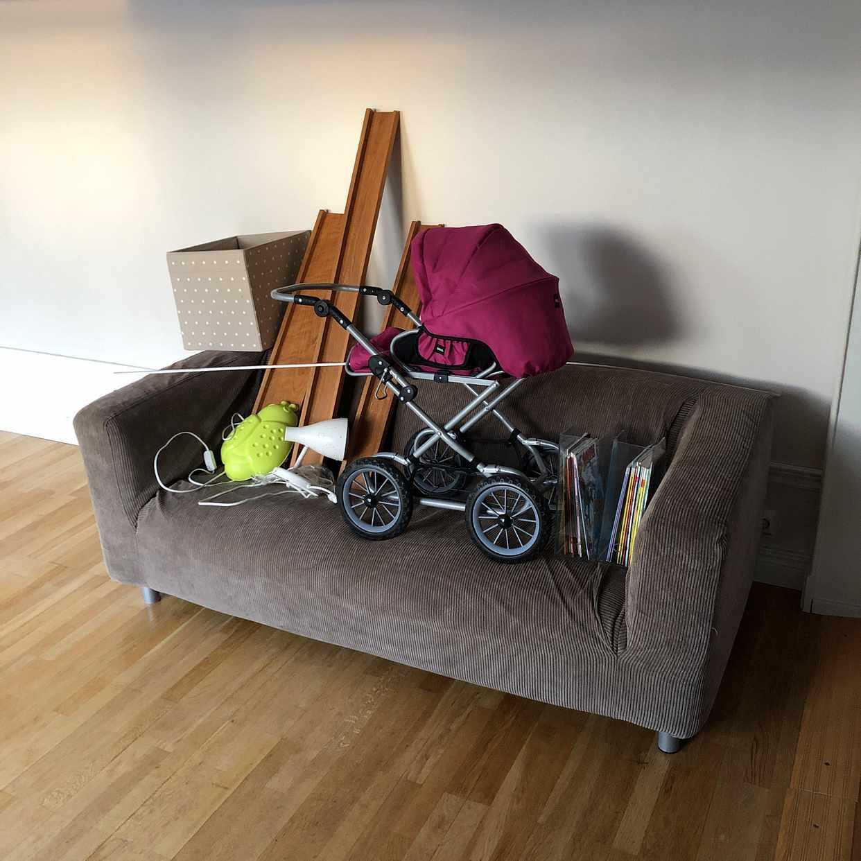 image of Ikea soffa, tavellister - Tungelsta