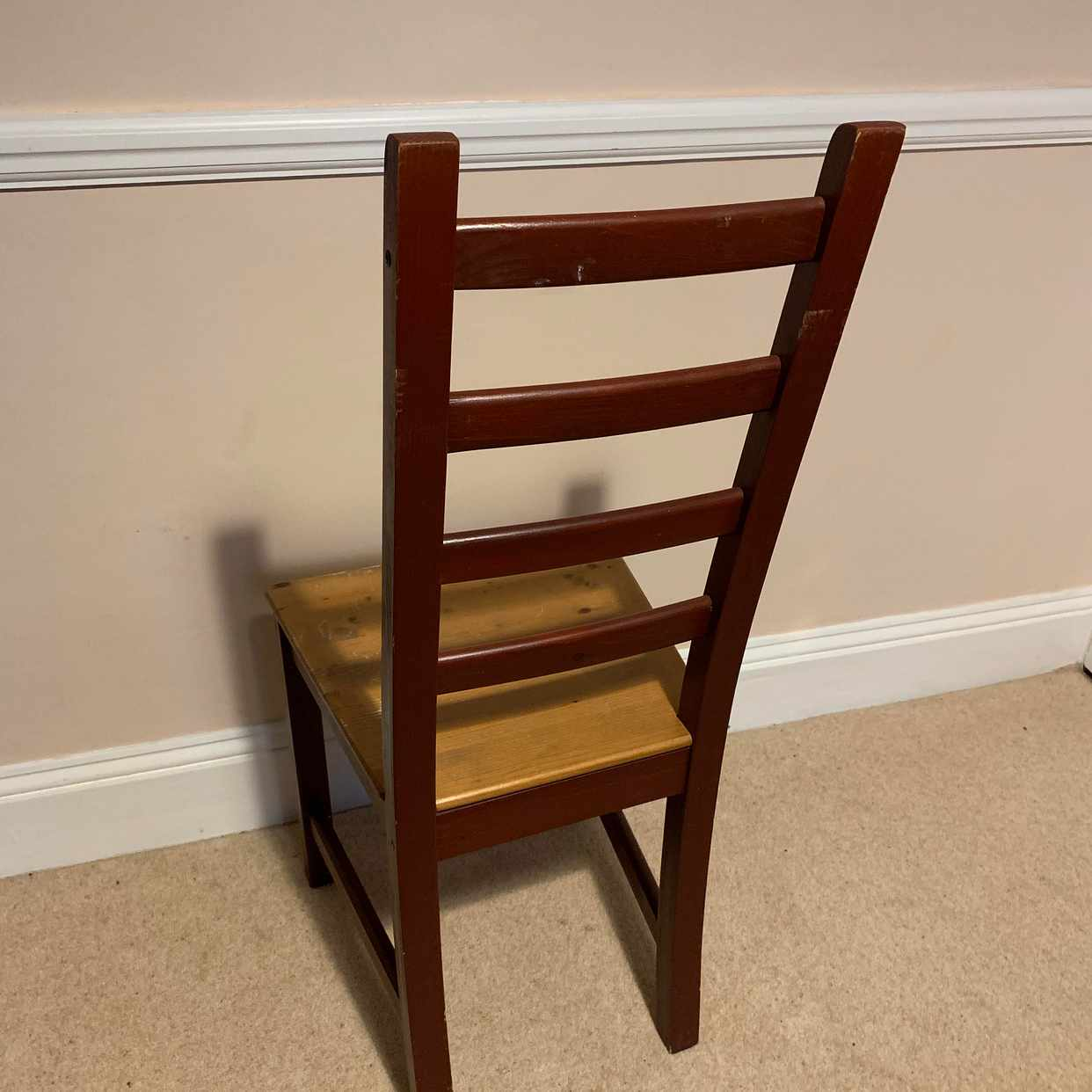 image of 3x dining chairs - New Malden