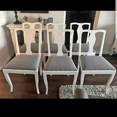 image of Hämt och lev av 6 stolar -
