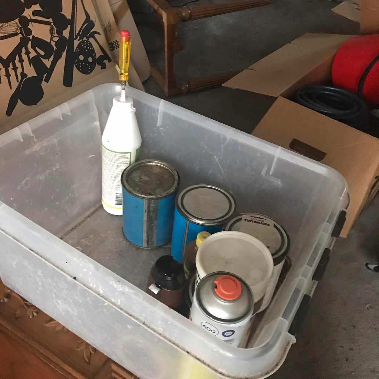 image of Blandat avfall+loppis - Vellinge