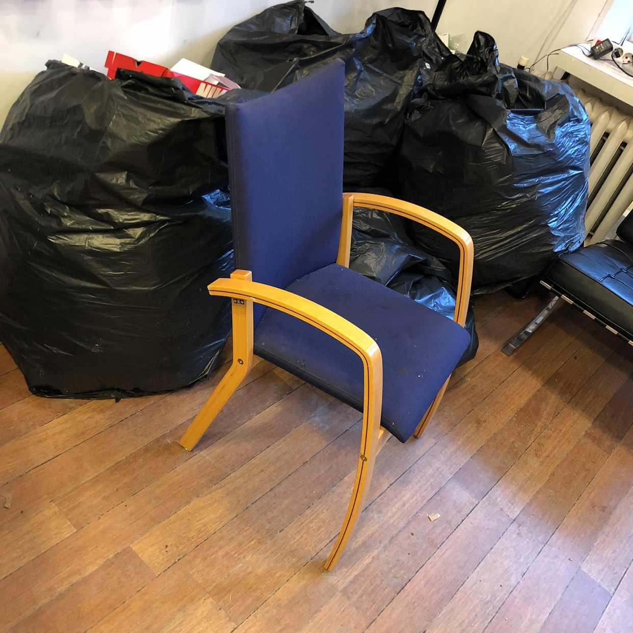 image of Soppåsar och en stol - Stockholms Stad