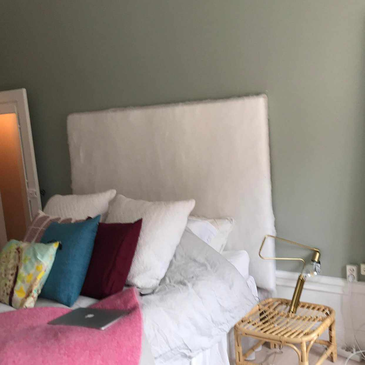 image of Homemade headboard - Stockholm City