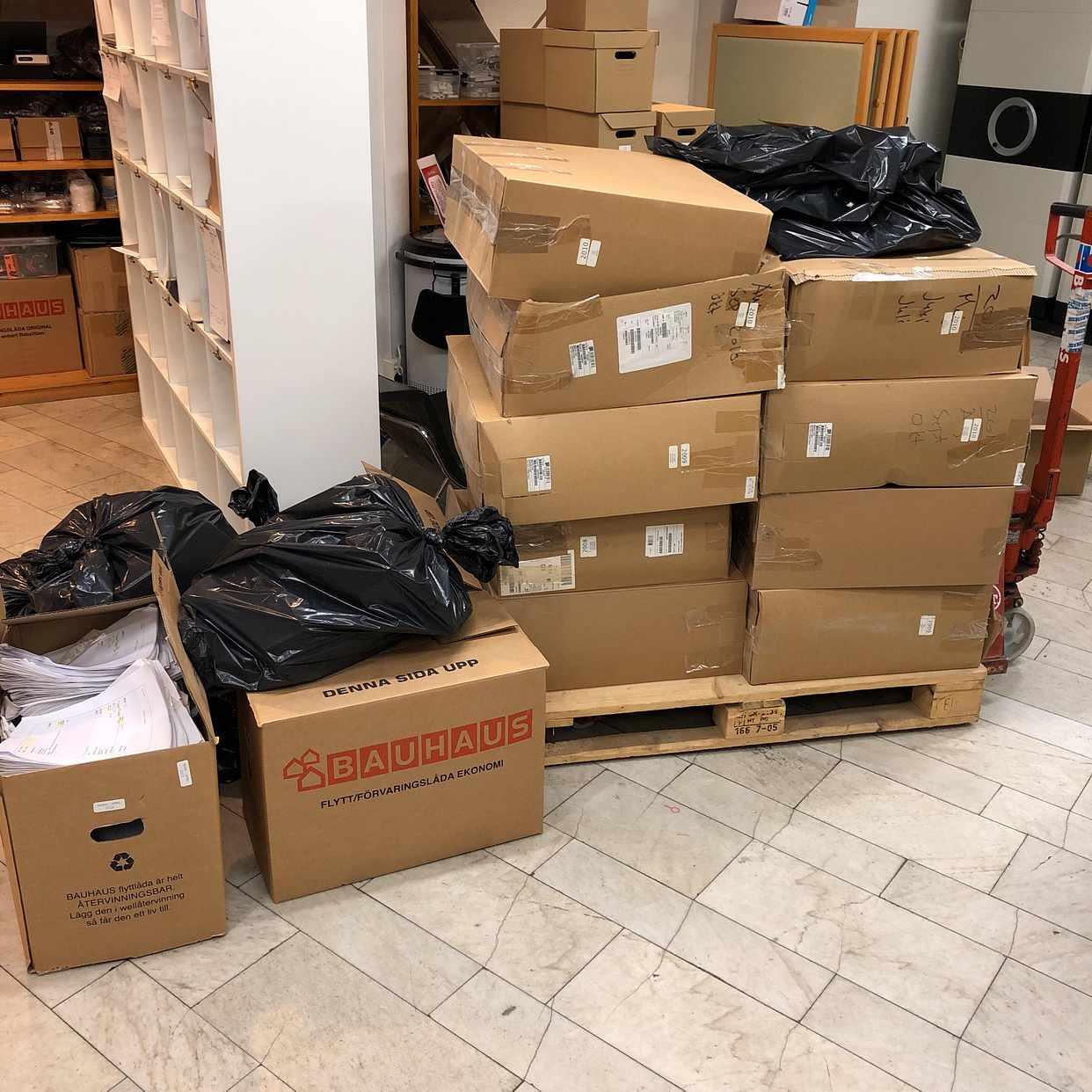 image of Pappers återvinning - Stockholm