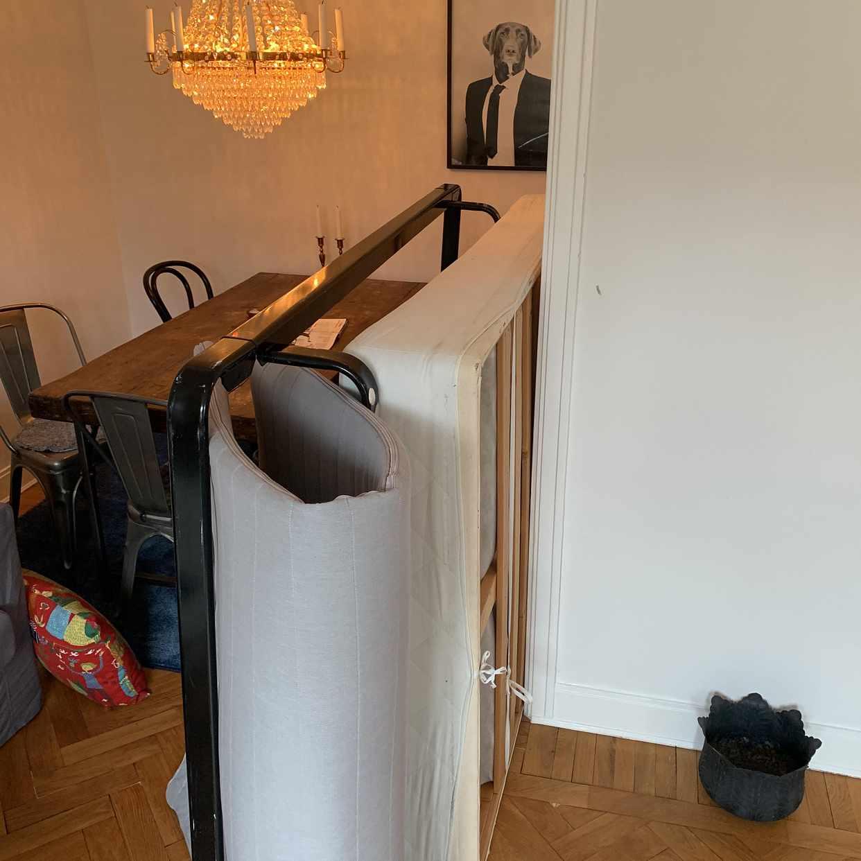 image of Säng + madrass120x200cm - Stockholm