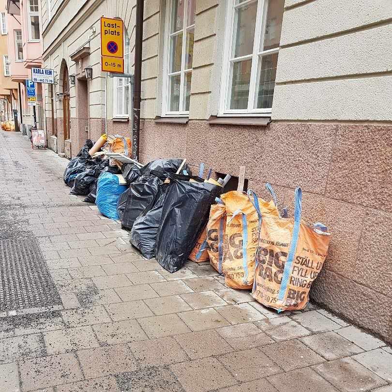 image of Byggskräp - Stockholm