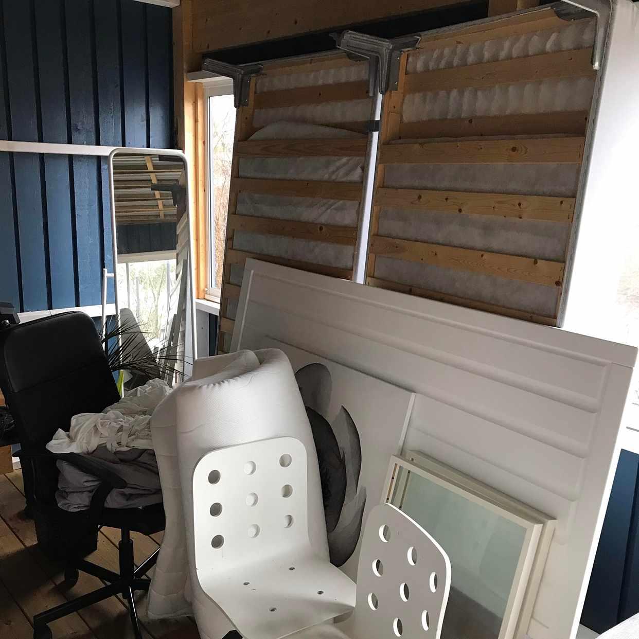 image of Sängar och möbler etc - Segeltorp