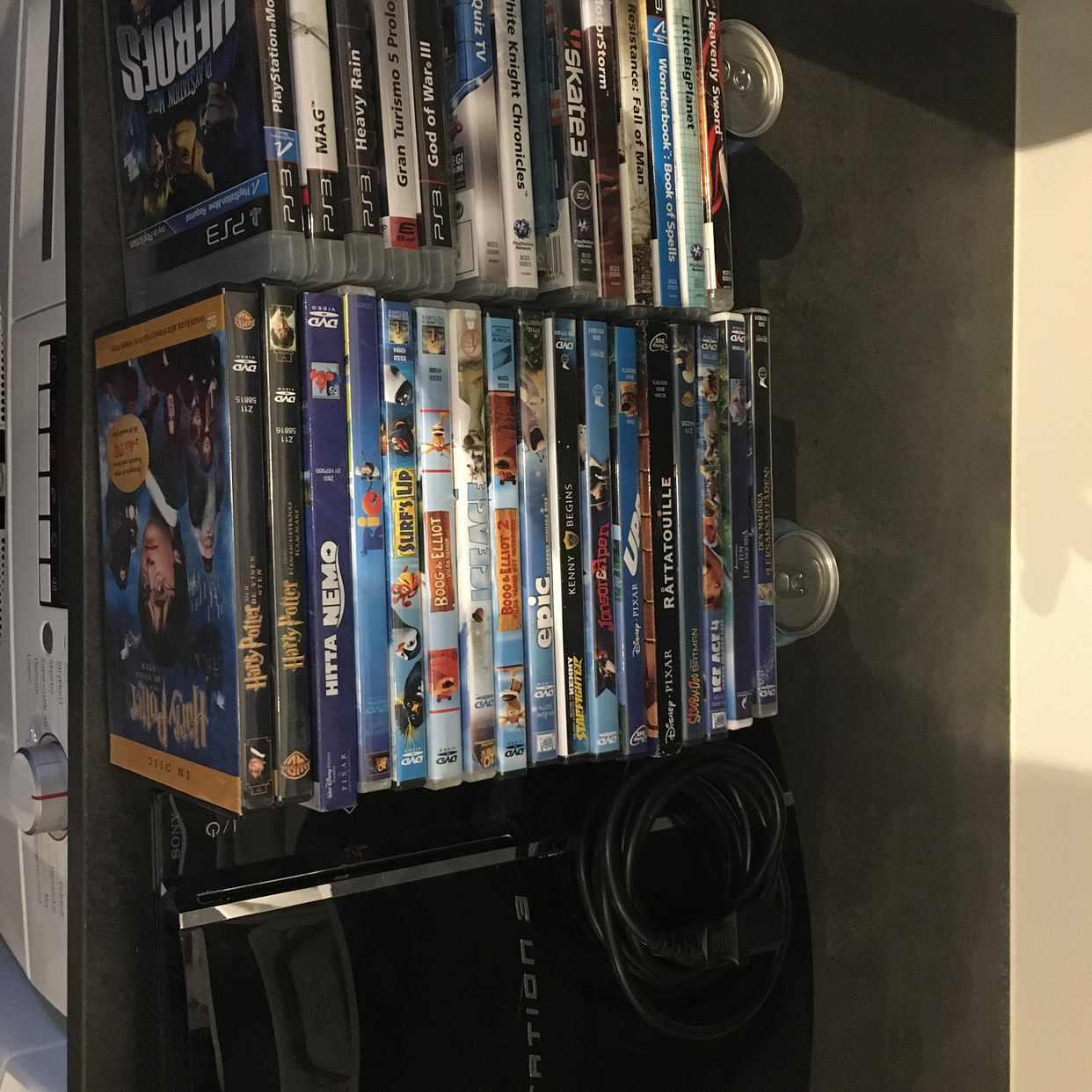 image of Playstation 3 + spel/film - Österskär