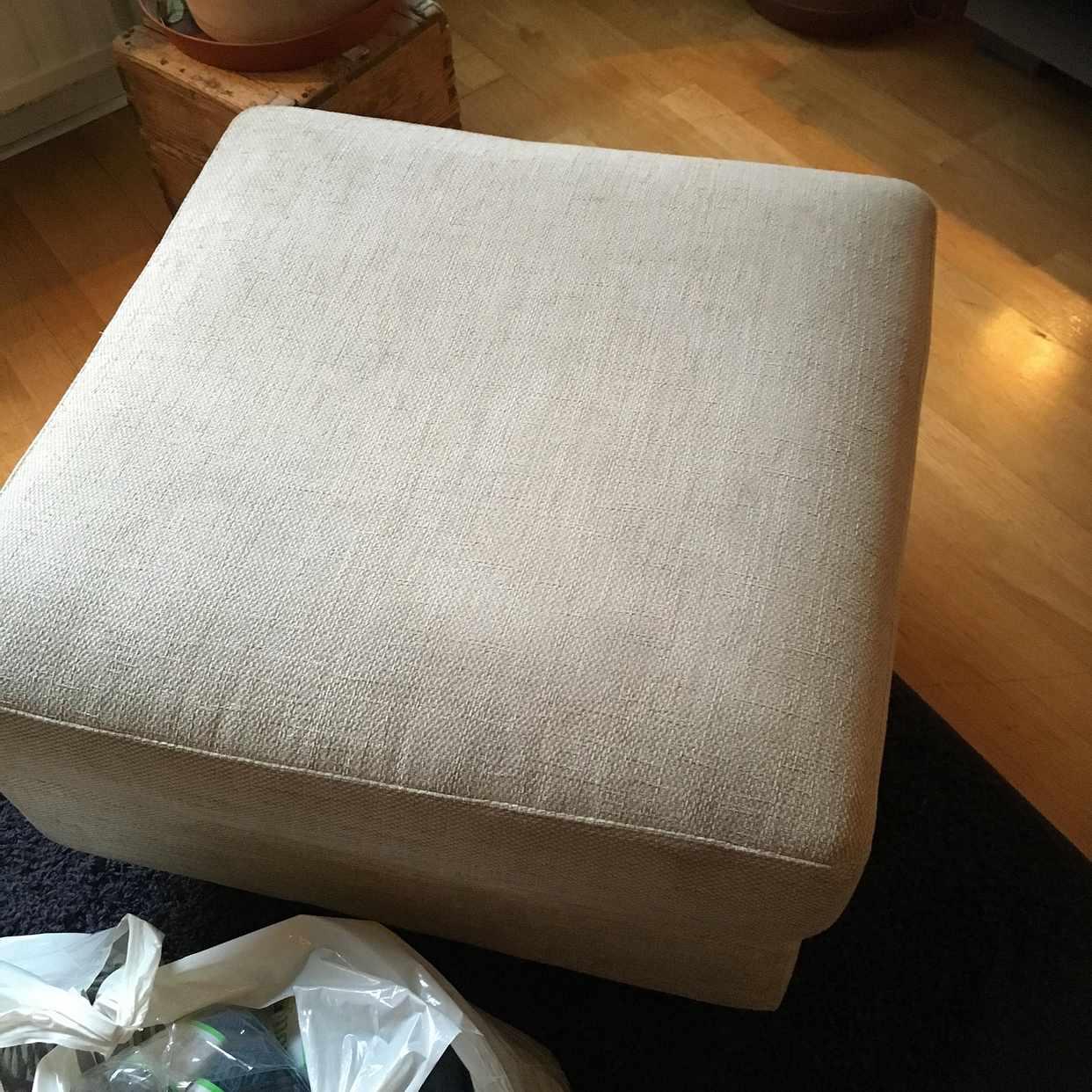 image of 1 soffa 2 sits m pall - Johanneshov