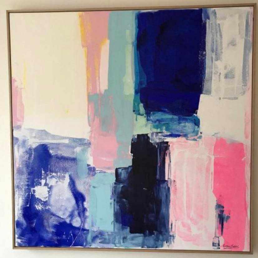 image of En målning/tavla -