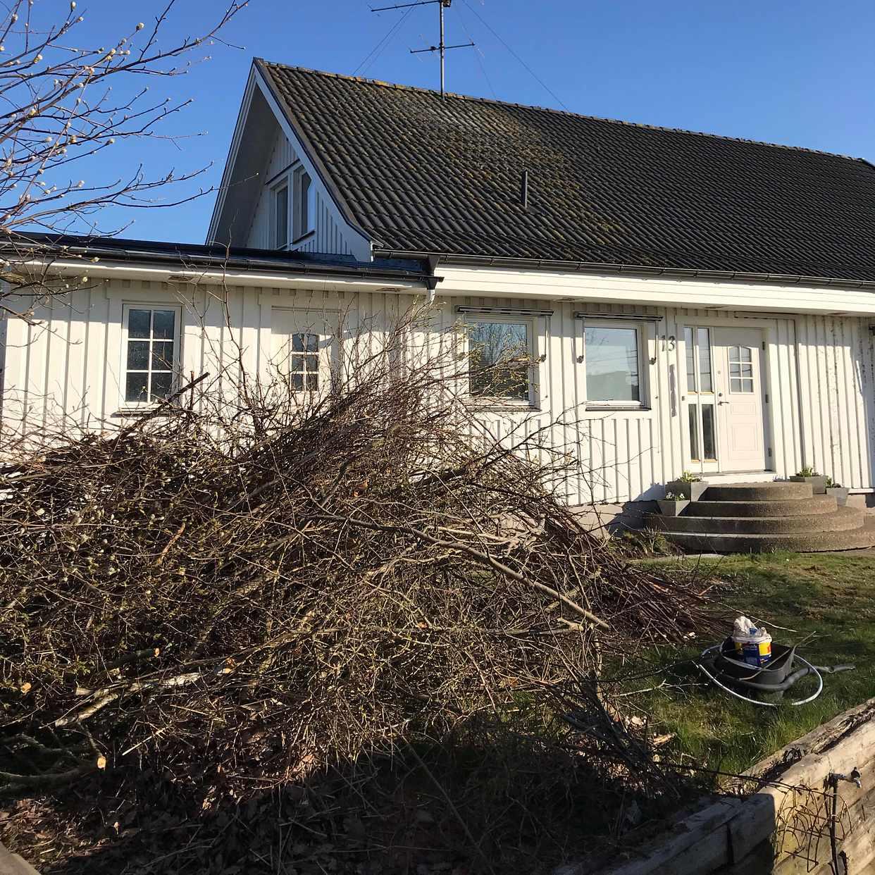 image of Trädgårdsavfall - Torslanda