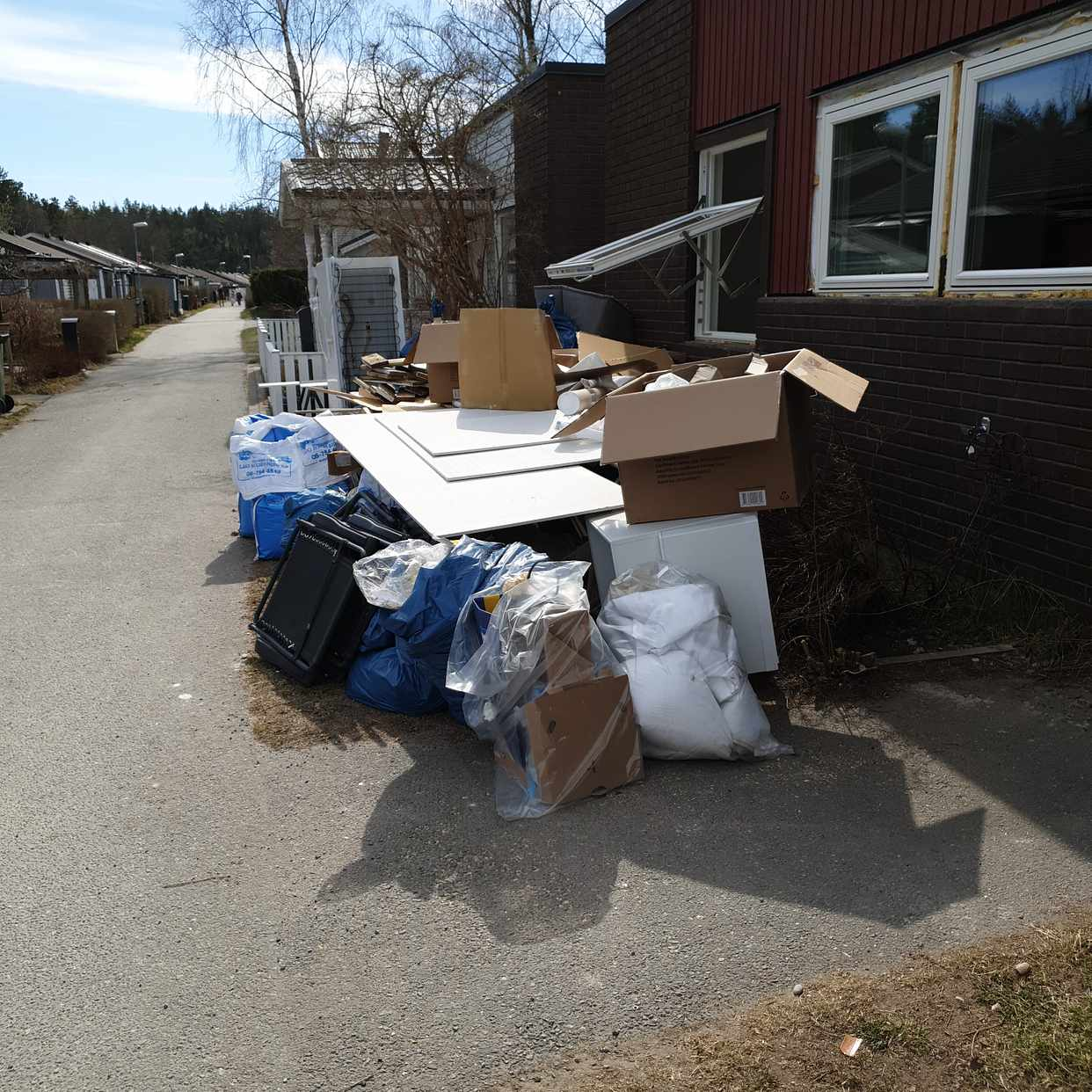 image of Blandat byggavfall - Vendelsö