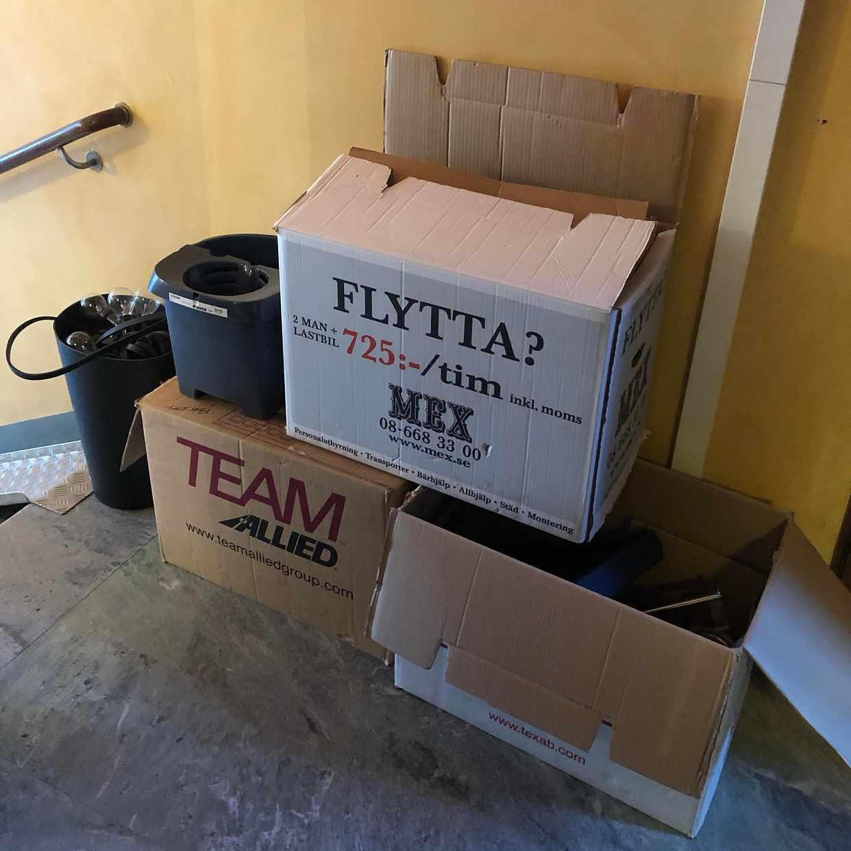 image of Mix av Emballage och färg - Stockholm