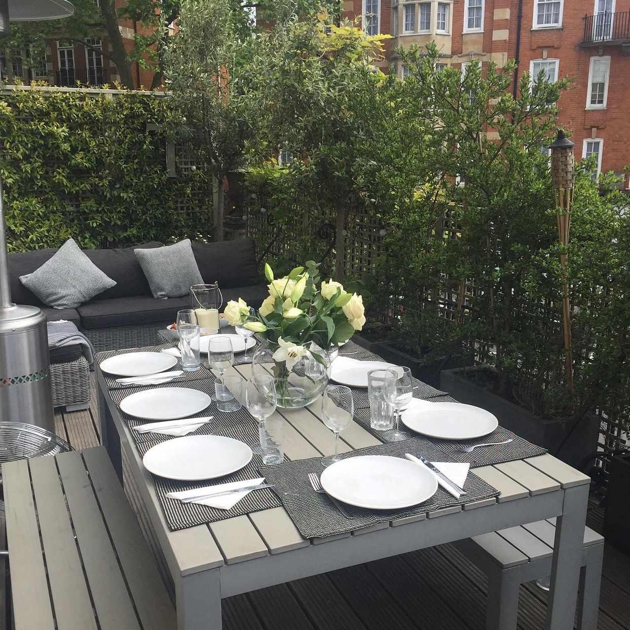 Image Of Ikea Falster Garden Table   London