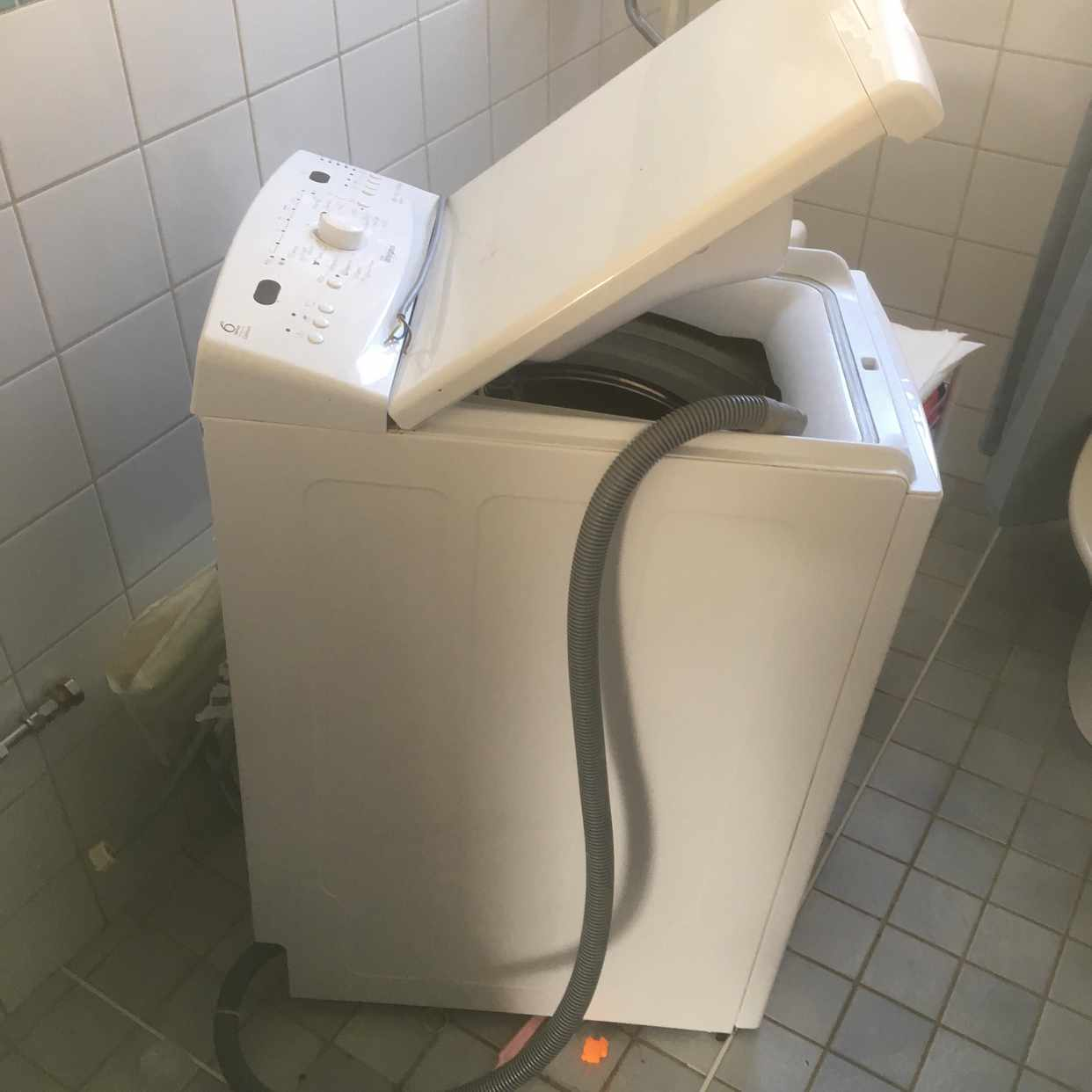 image of Tvättmaskin bortforslas - Bandhagen