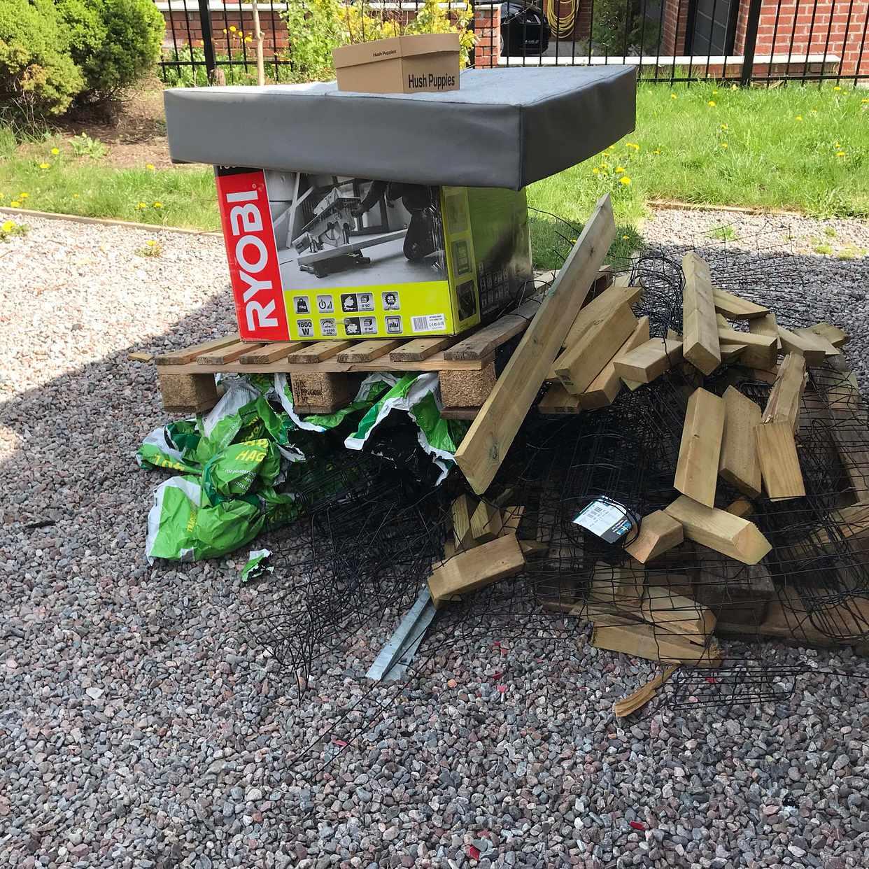 image of Kompost, sopor, nedmonter - Täby