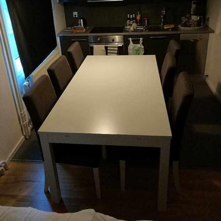 image of Bord samt 6st stolar - Södertälje
