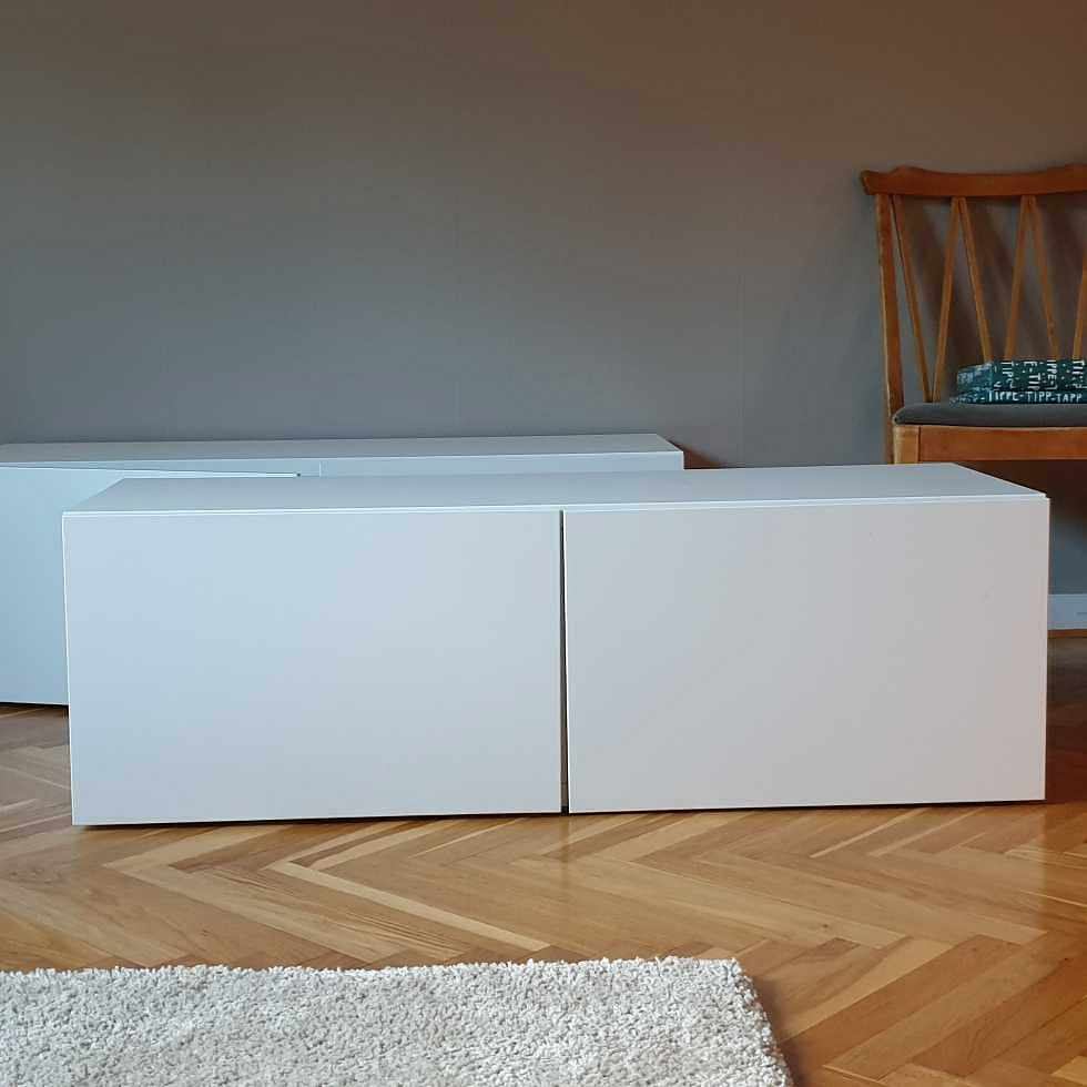 image of 2 stk. Ikea tv-bänkar - Mölndal