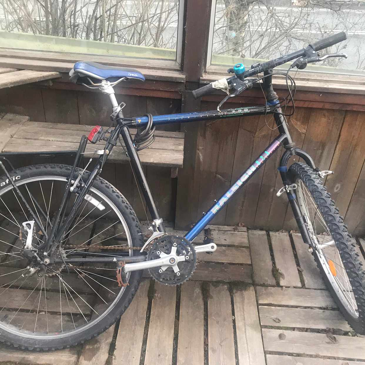image of Övergiven cykel - Åre