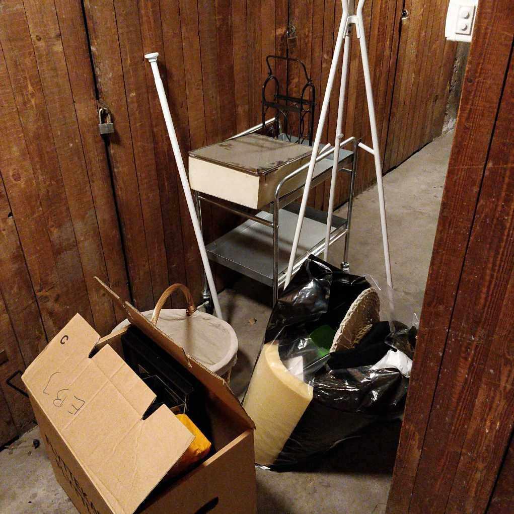 image of Skräp till återvinning - Stockholm