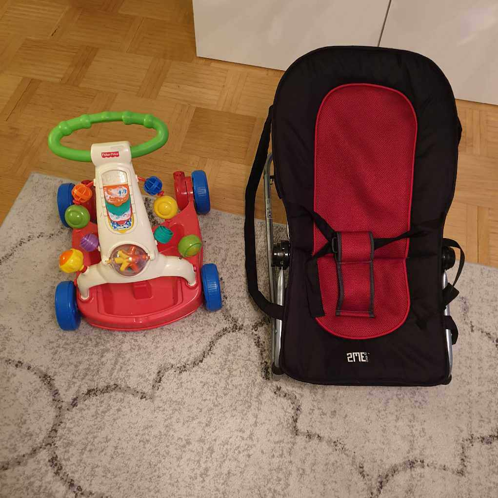 image of Babysitter och gåvagn - Spånga