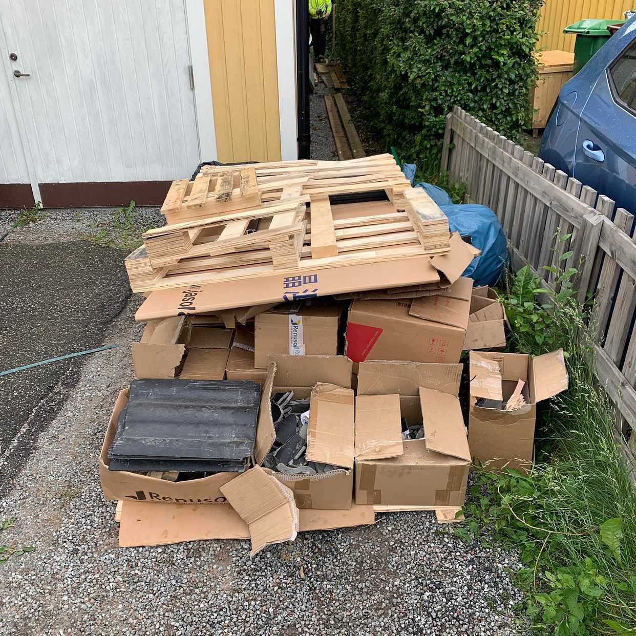 image of Emballage solceller - Kungsängen