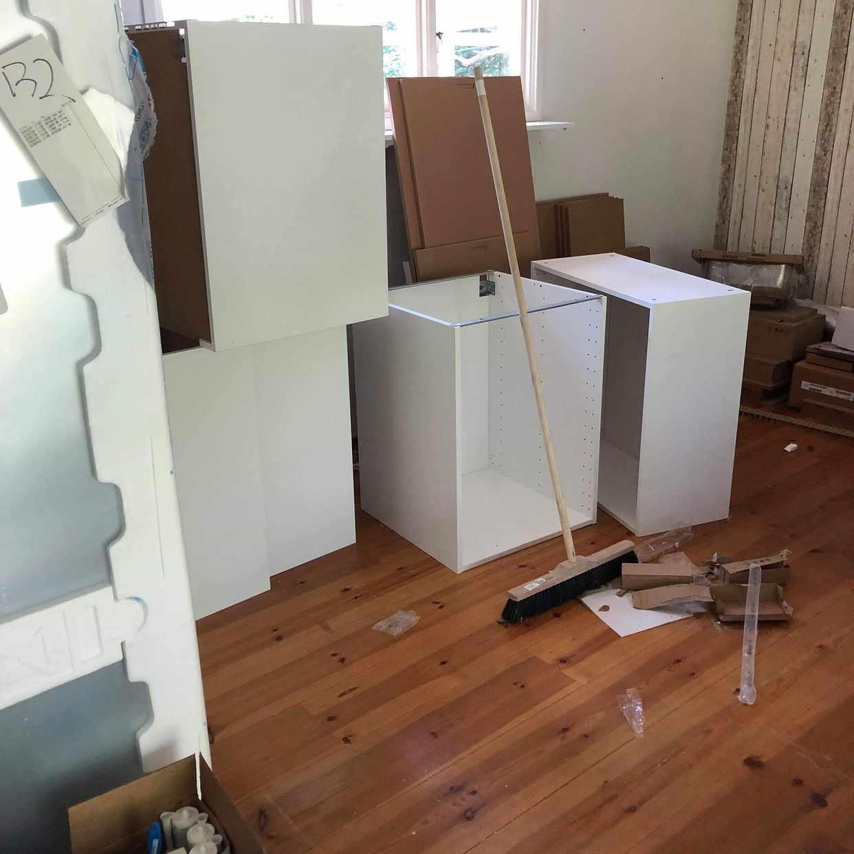 image of Montera klart Ikea kök -