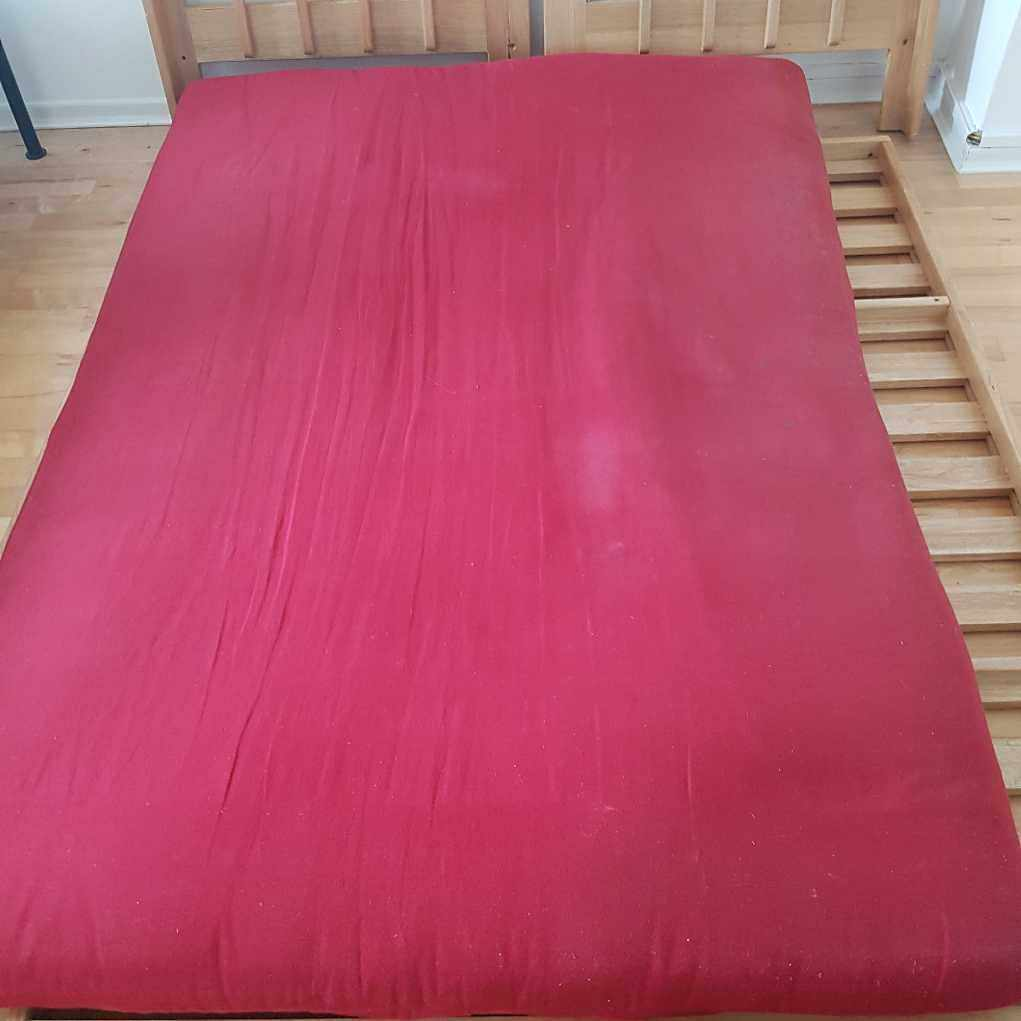 image of Dismantled sofa bed - London