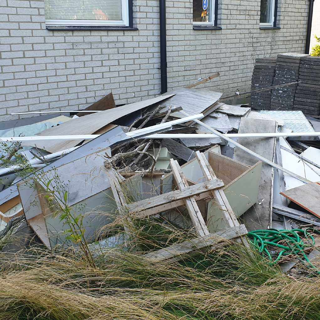 image of Byggrester och kompost - Åstorp