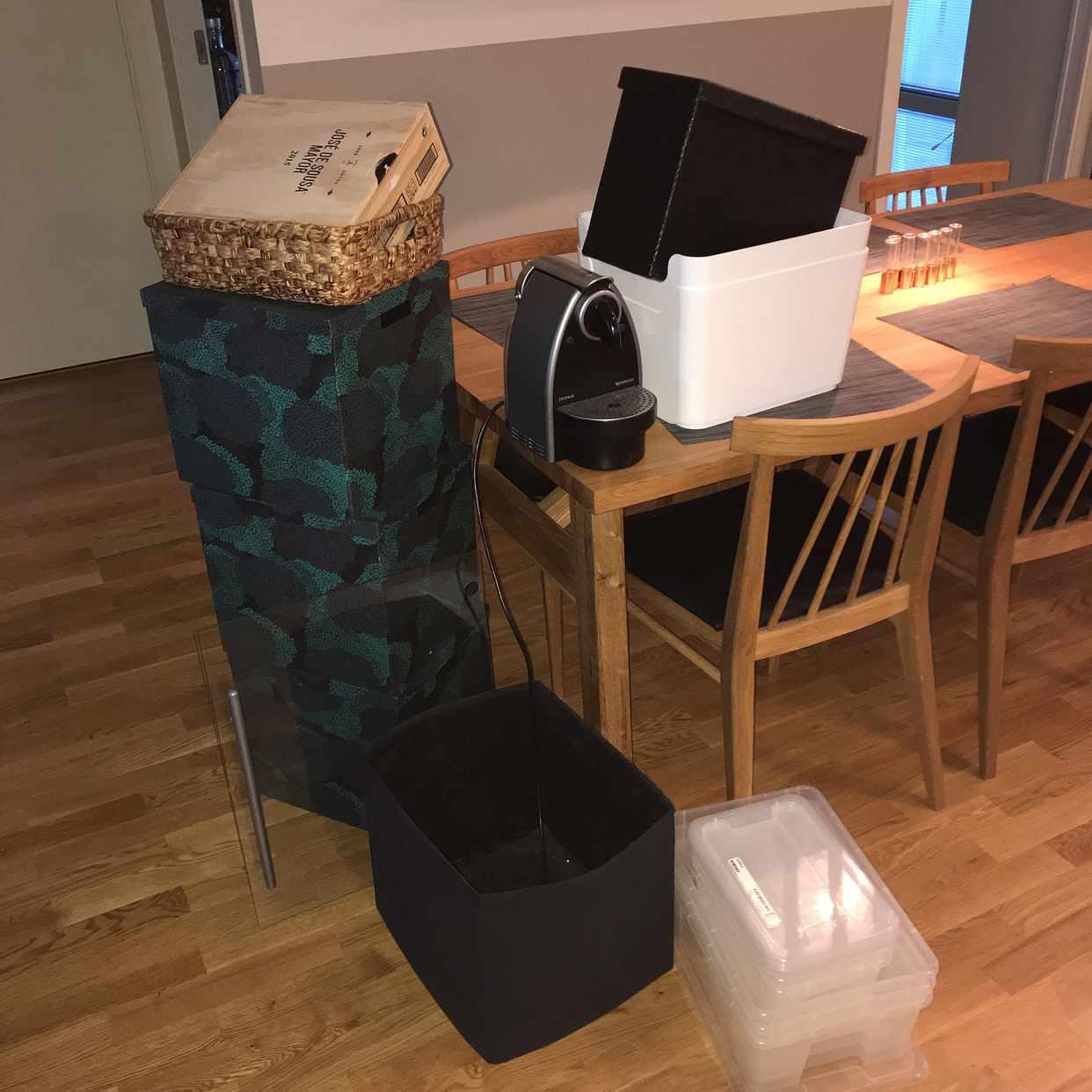 image of Lådor till återvinning - Solna