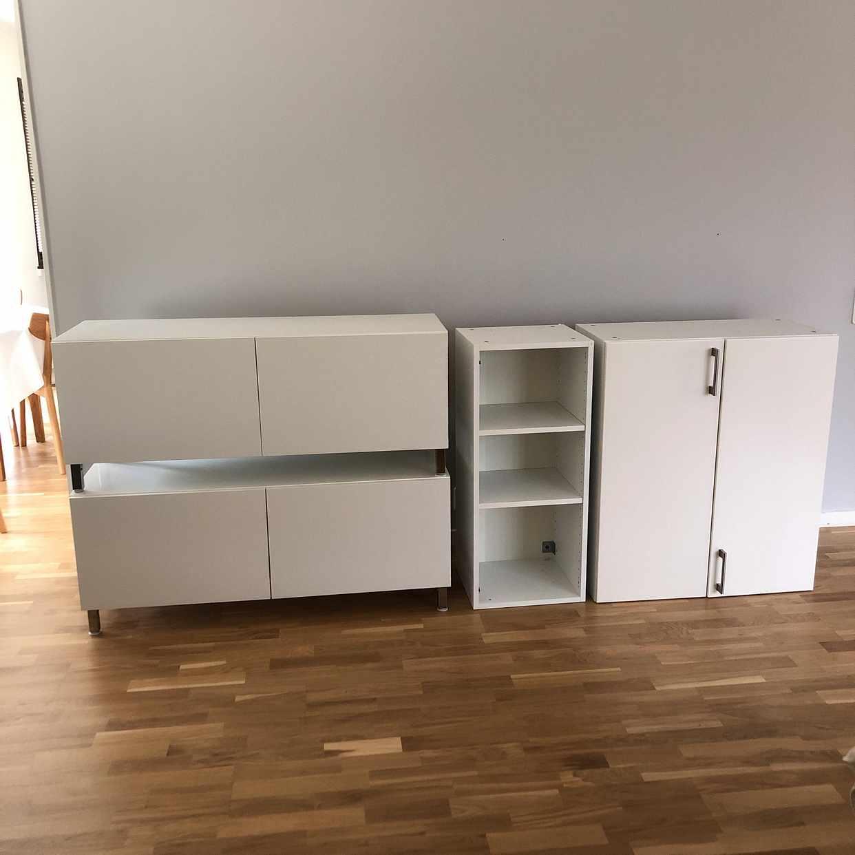 image of 2 Ikea Bestå 2 köksskåp - Täby