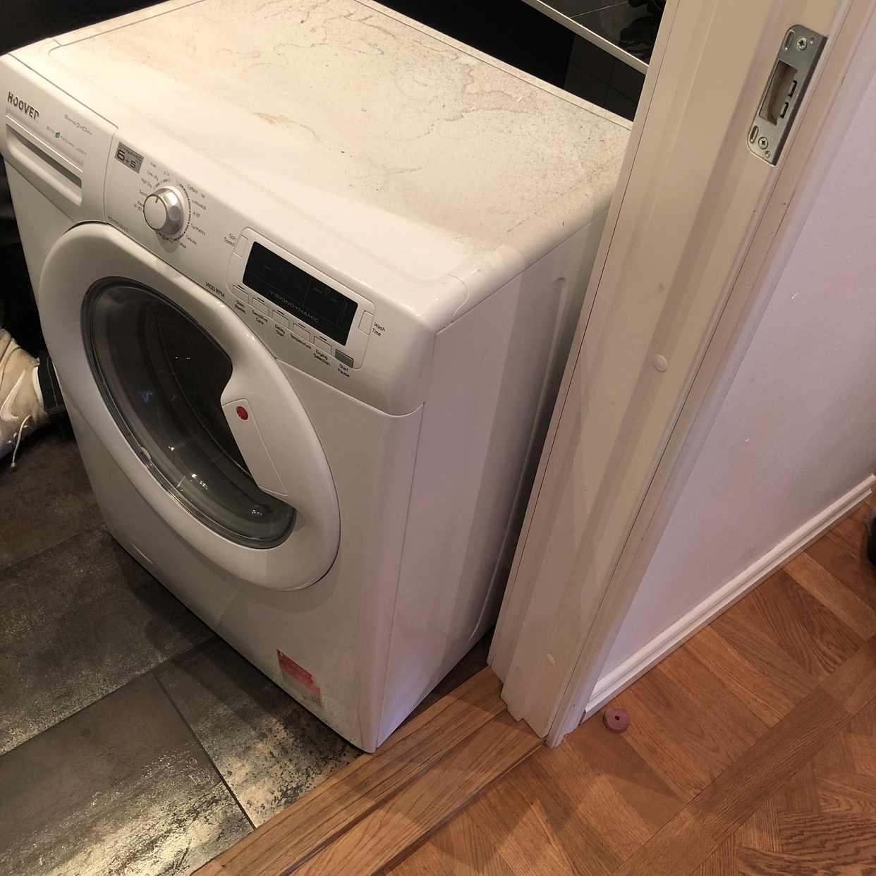 image of Bortforsling tvättmaskin - Stockholm