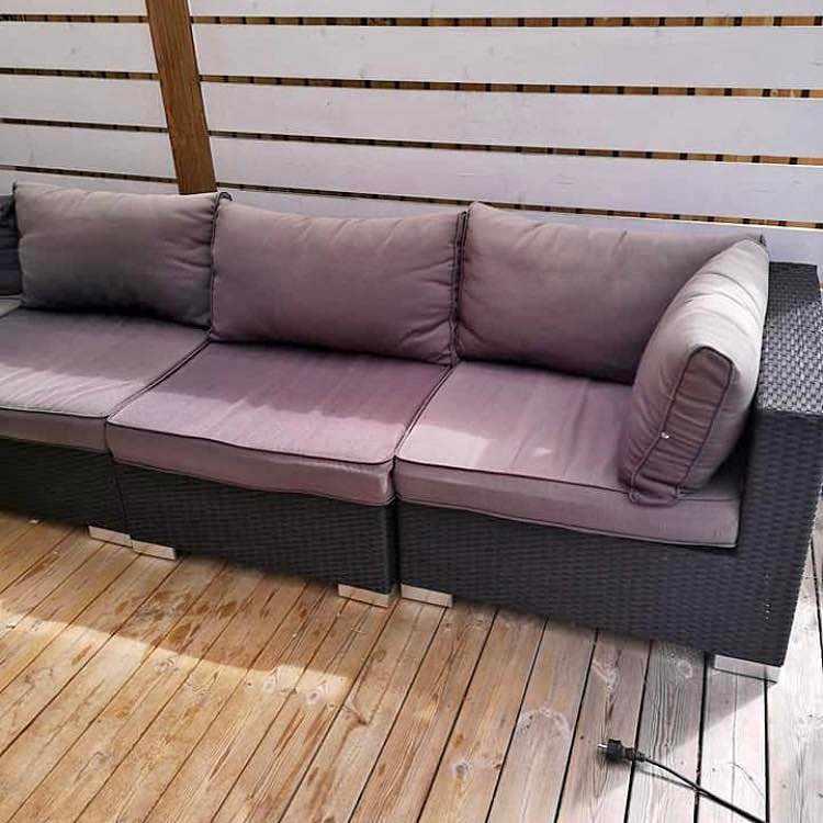 image of Utemöbel soffa -