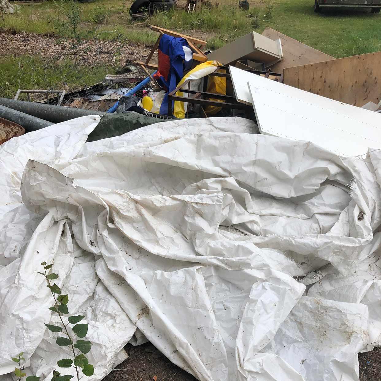 image of Blandat skräp till tippen - rimbo