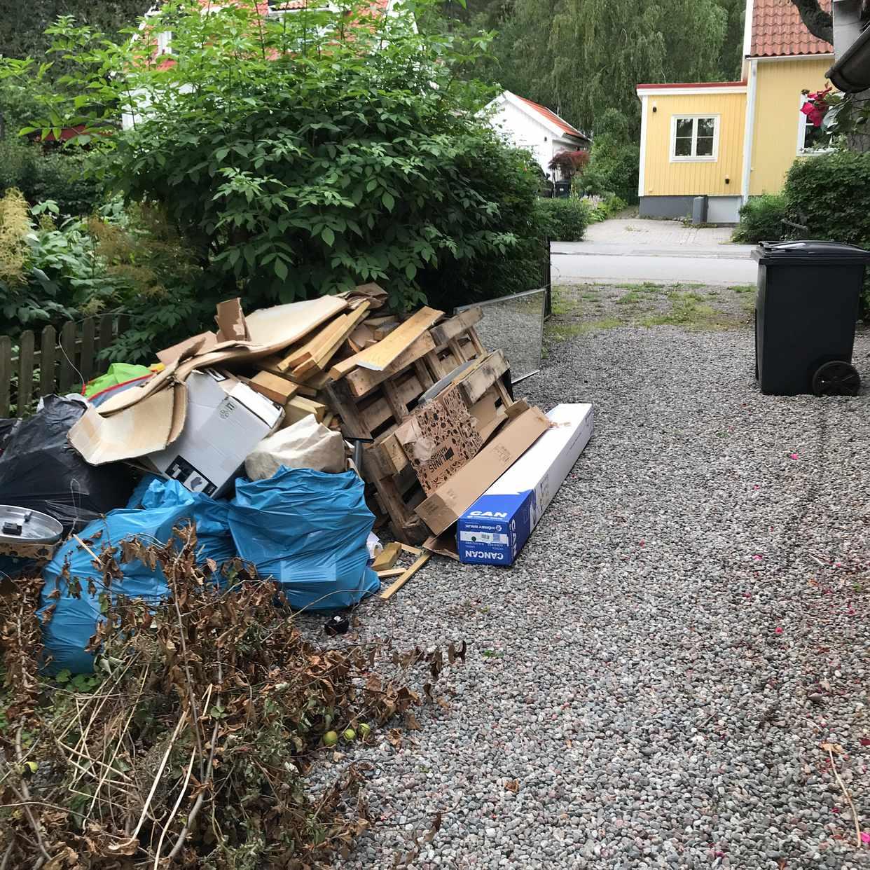 image of Blandat skräp - Enskede