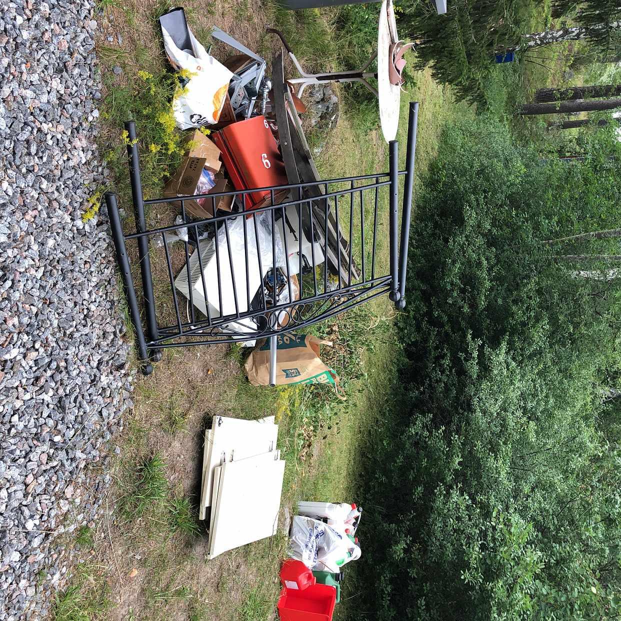 image of Blandat till tippen - Gustavsberg