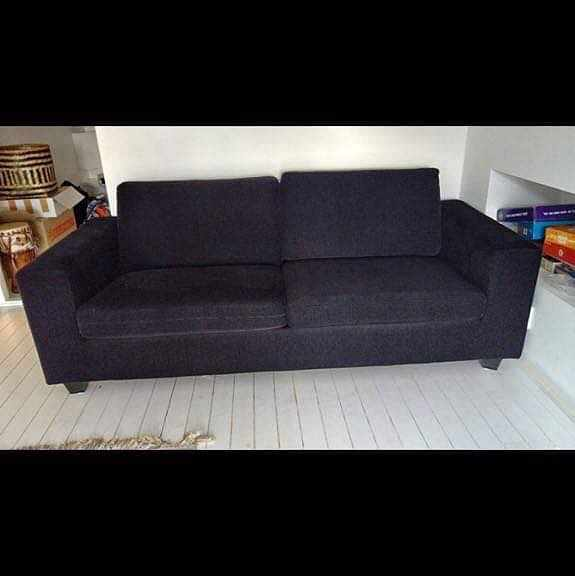 image of 3 sitts soffa transport -
