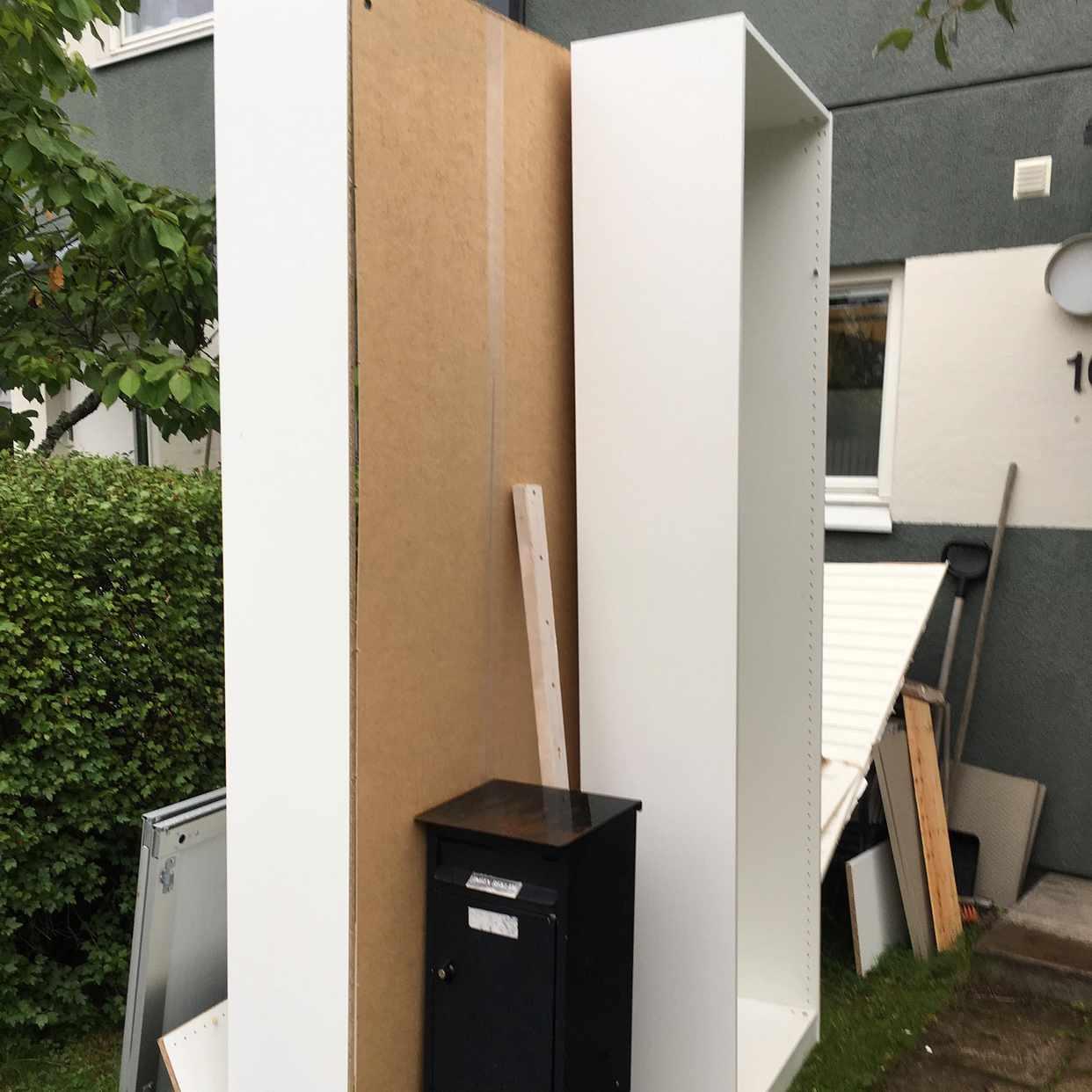 image of 2 Ikea-garderober slänges - Sollentuna