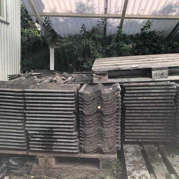 image of Avhämtning av takpannor -