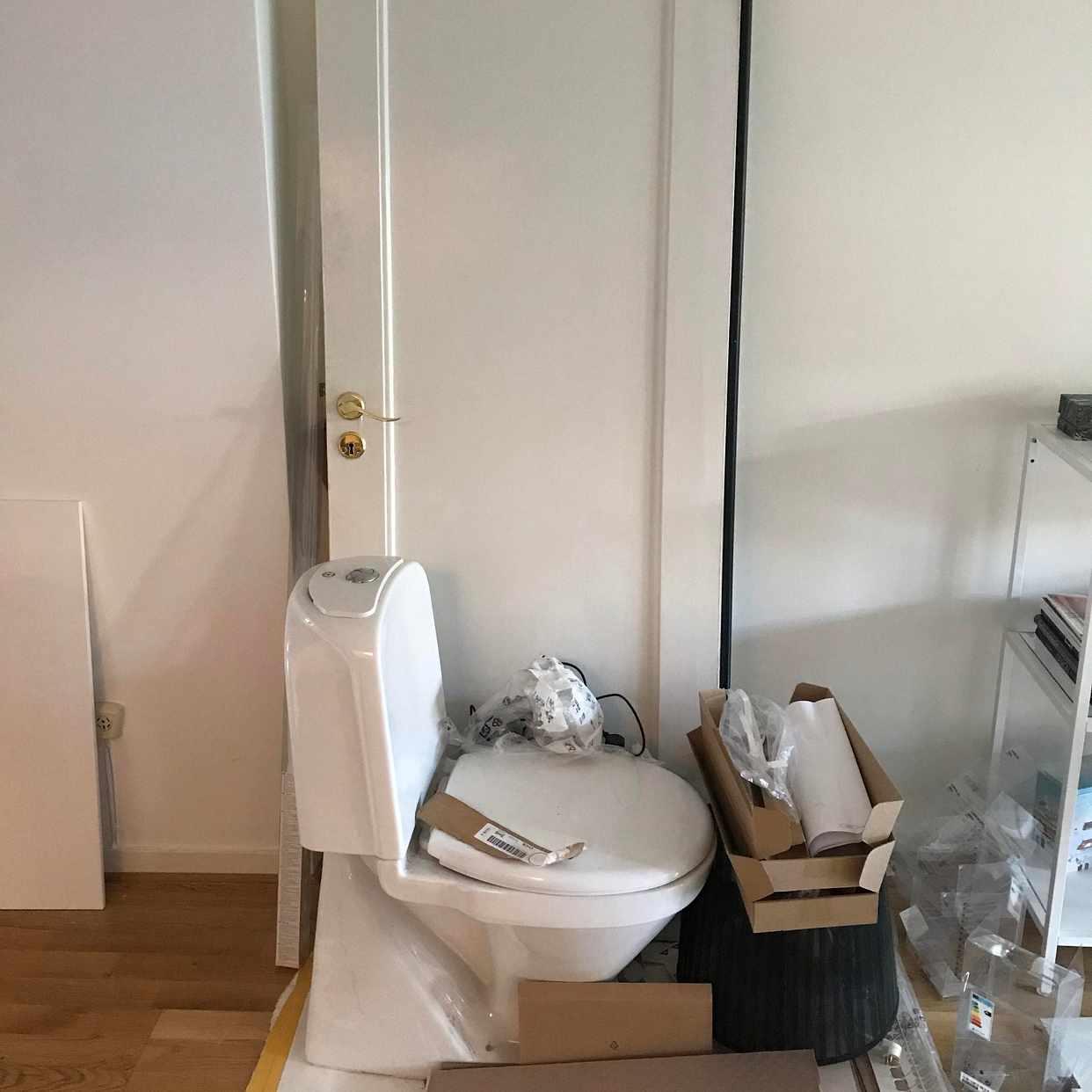 image of Olika saker till tippen - Solna