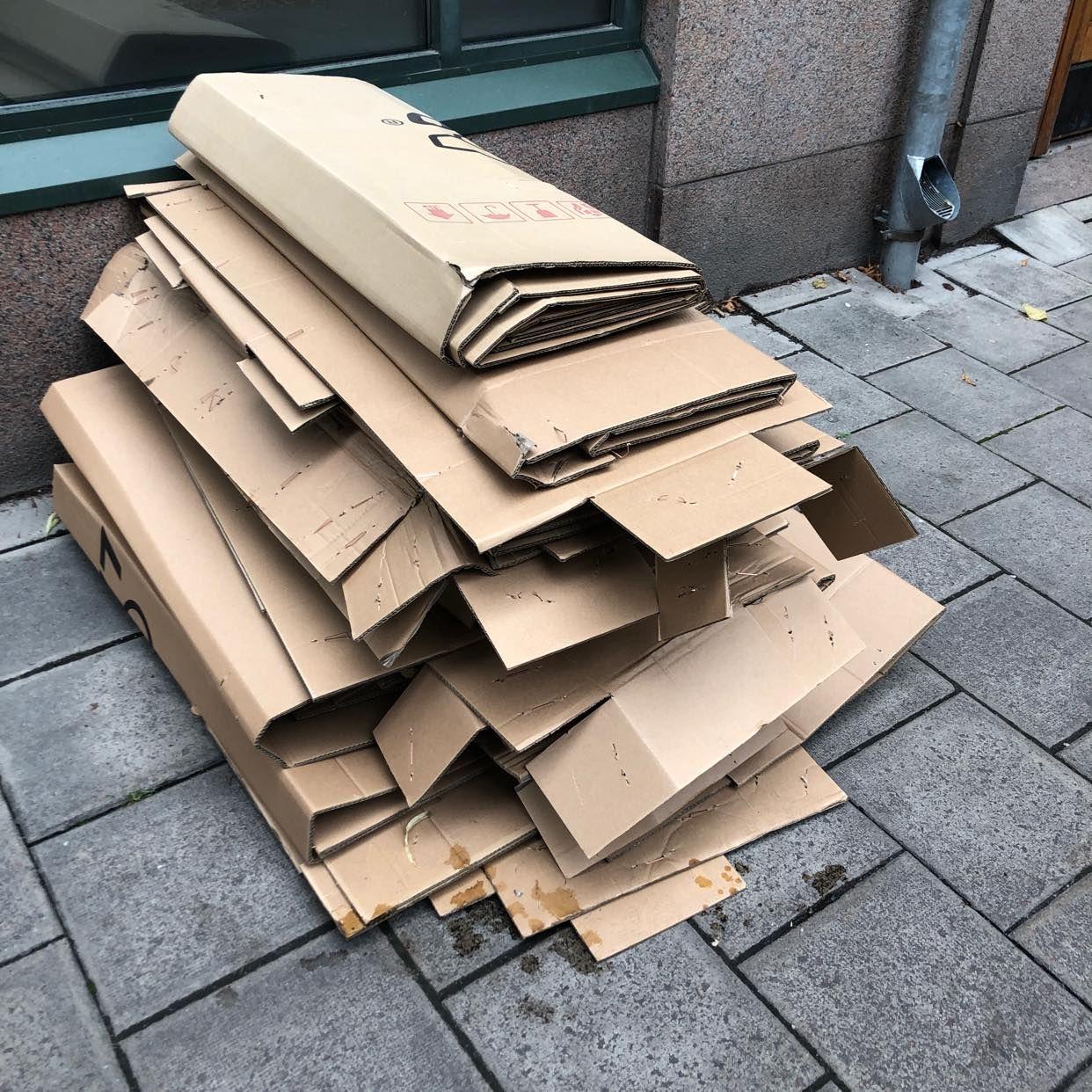 image of Vikta kartonger - Stockholms Stad