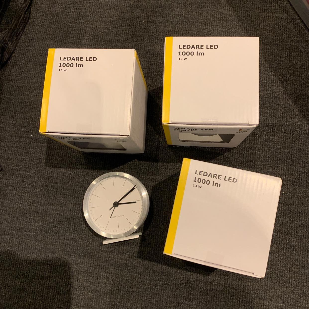 image of 3 Led + Clock - Stockholm