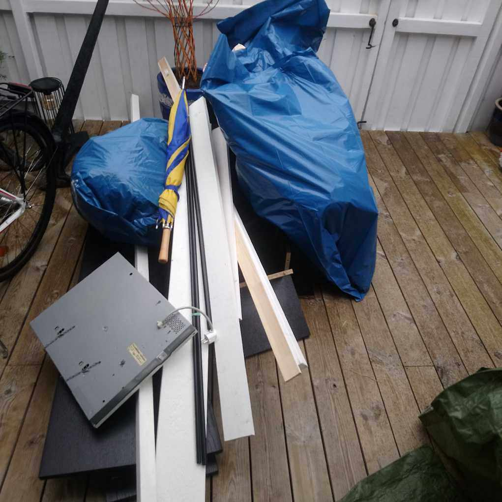 image of Rensning av förrådet - Tyresö