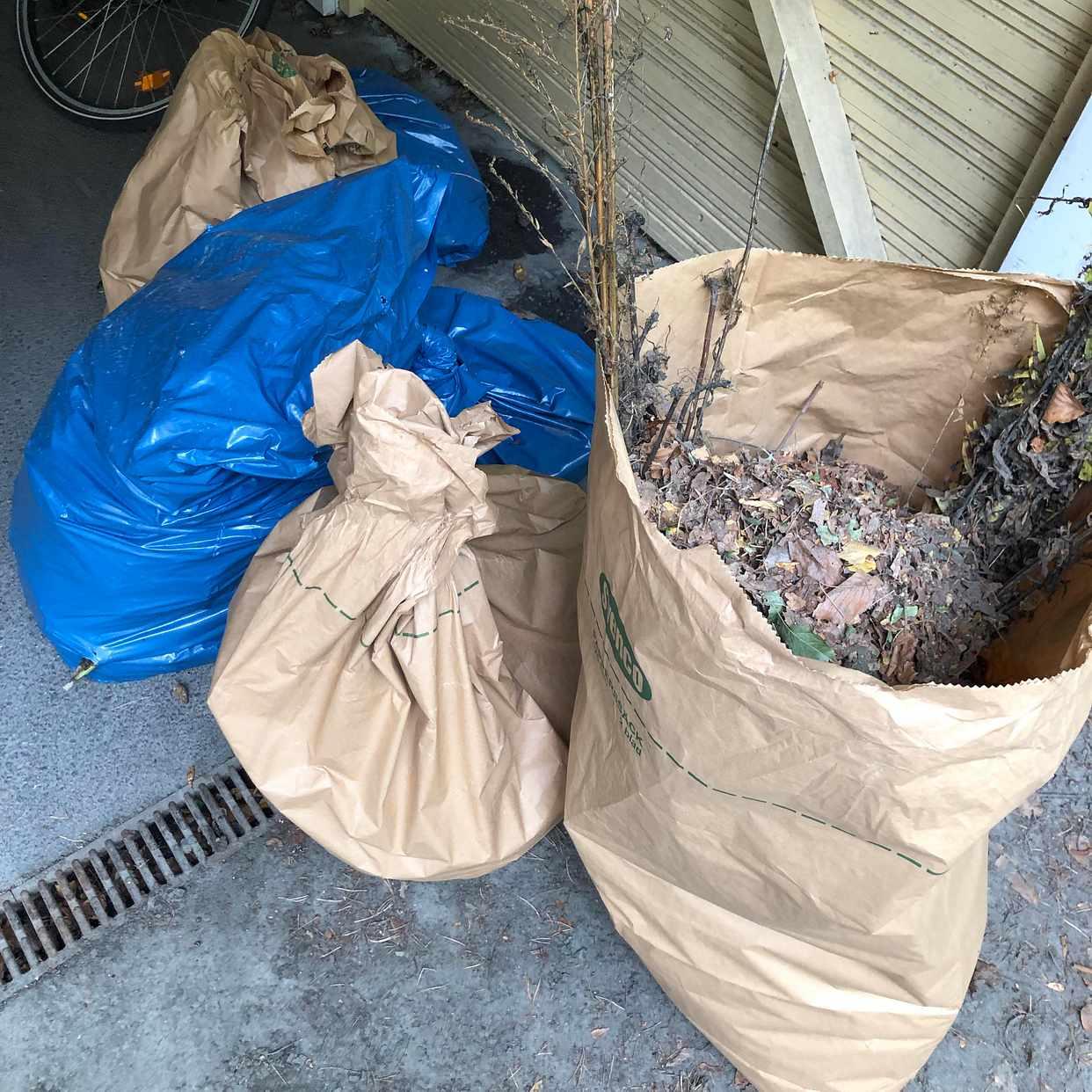 image of Garden waste - Lidingö