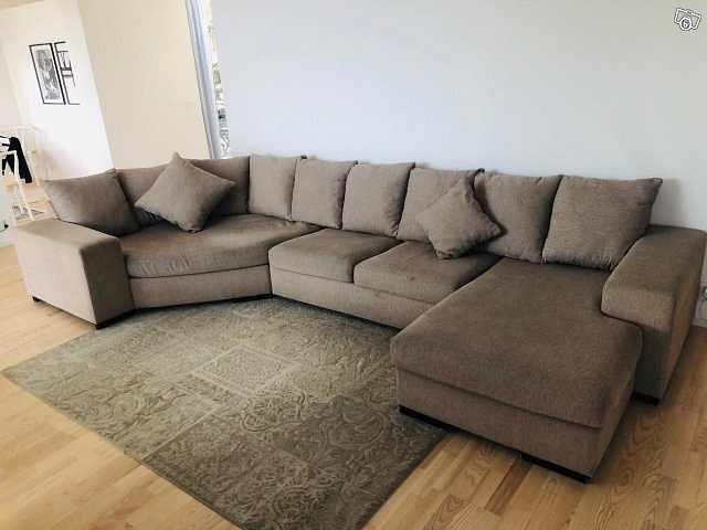 image of Komplett snygg/skön soffa -