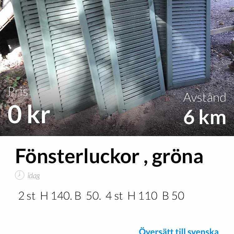 image of Fönsterluckor -