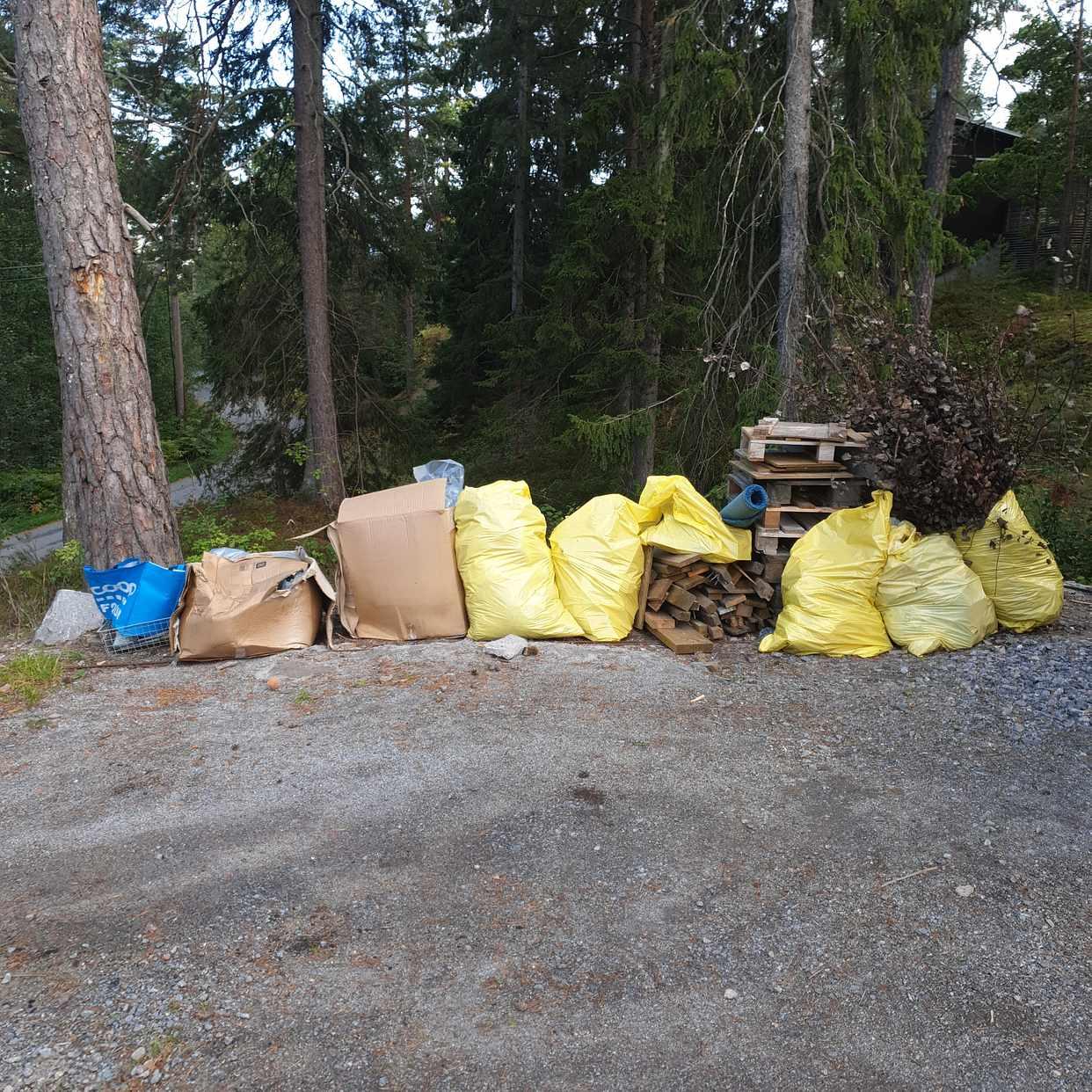 image of Sorterat material - Saltsjö-boo